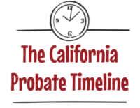 California probate timeline