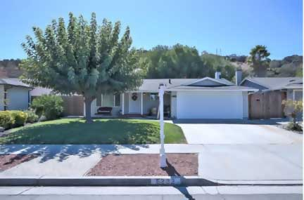 6233 Hancock Dr, San Jose 95123 4 Bedrooms, 2 Baths 1,409 sqft house, 5,959 sqft lot $960,000