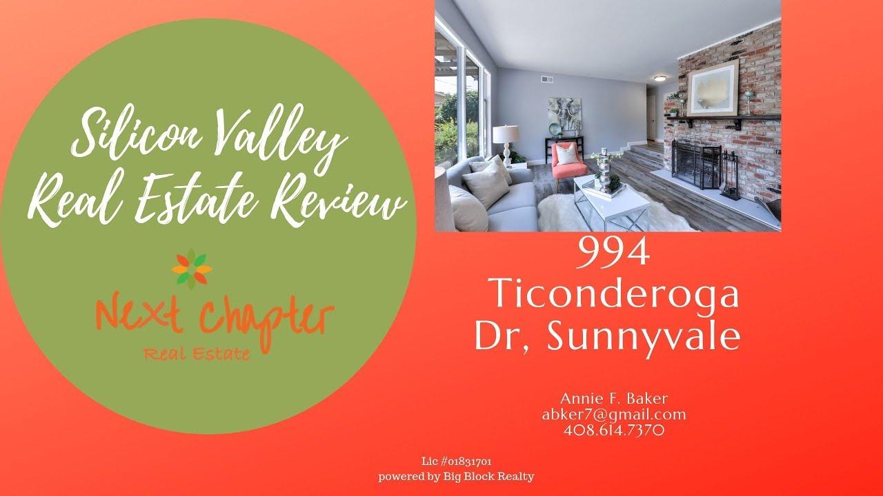 994 Ticonderoga Dr Sunnyvale